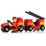 BRIO 33576 Pojazd strażacki z dźwiękiem i światłem