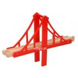 Element mostu - czerwony