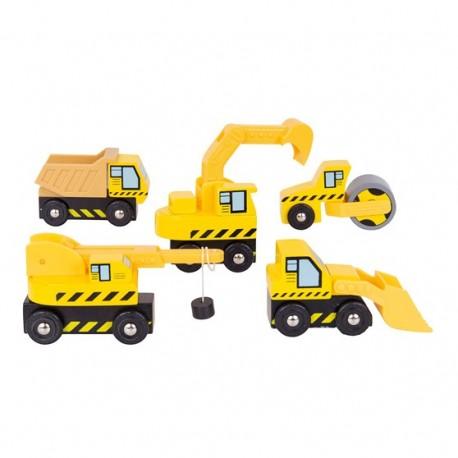 Pojazdy budowlane (5 szt.)