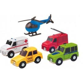 91196 Pojazdy ratunkowe (5 szt.)