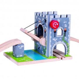 Most zwodzony - Zamek