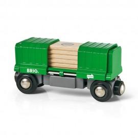 BRIO 33561 Wagon towarowy rozsuwany