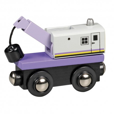 Wagon z dźwigiem
