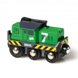 BRIO 33214 Lokomotywa towarowa na baterię