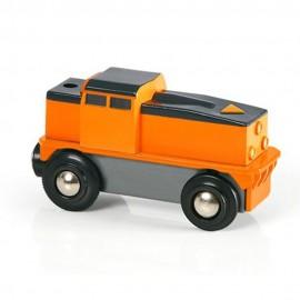 BRIO 33215 Lokomotywa CARGO na baterię