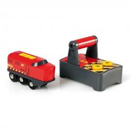 BRIO 33213 Zdalnie sterowana lokomotywa na baterię