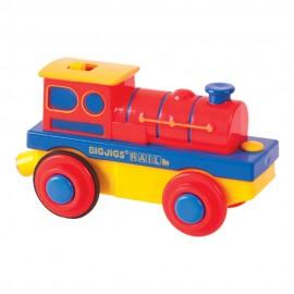 Prosta lokomotywa na baterię