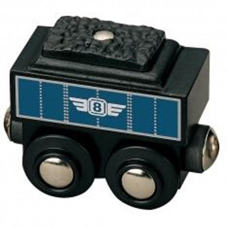 Wagon z węglem (tender)