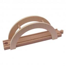 Element mostu - drewniany