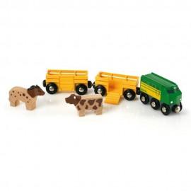 BRIO 33404 Pociąg z farmy