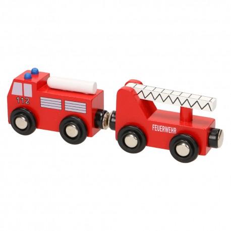 Pojazd strażacki z drabiną