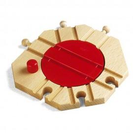 BRIO 33361 Mechaniczna obrotnica na 6 torów