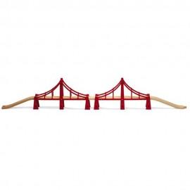 BRIO 33683 Podwójny most wiszący