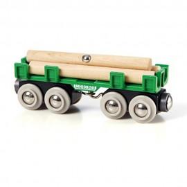 BRIO 33696 Wagon z drewnem