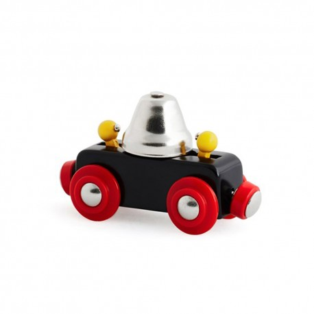 BRIO 33749 Wagon z dzwonkiem