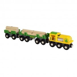 BRIO 33775 Pociąg z drewnem
