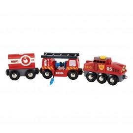 BRIO 33844 Pociąg strażacki