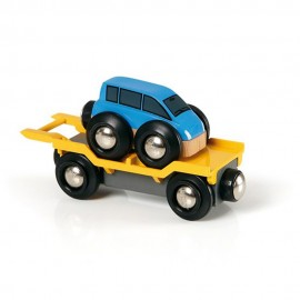 BRIO 33577 Wagon laweta z autem
