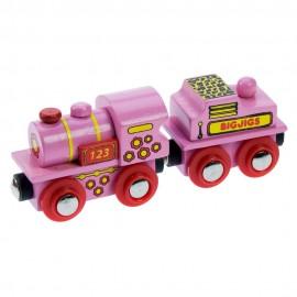 Różowa lokomotywa