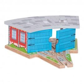 Parowozownia dla 3 lokomotyw