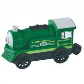 Zielona lokomotywa na baterię