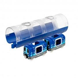 BRIO 33970 Fluorescencyjne Metro i Tunel