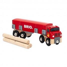 BRIO 33657 Auto z drewnem