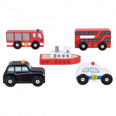 Pojazdy miejskie (5 szt.)