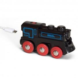 BRIO 33599 Lokomotywa z akumulatorem + USB