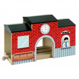 Stacja kolejowa - tunel