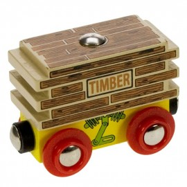 Wagon z deskami