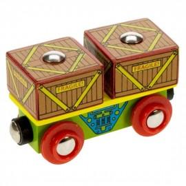 Wagon ze skrzyniami