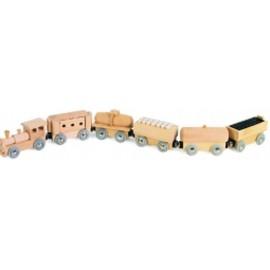 Pociąg towarowy z 5 wagonami